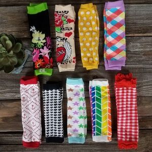 Other - Lot of 9 baby/ toddler leg warmers